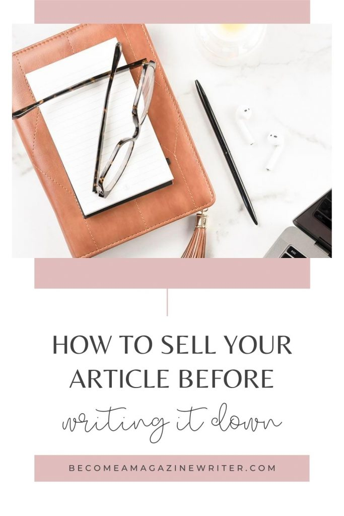 How to sell your article before writing it 01