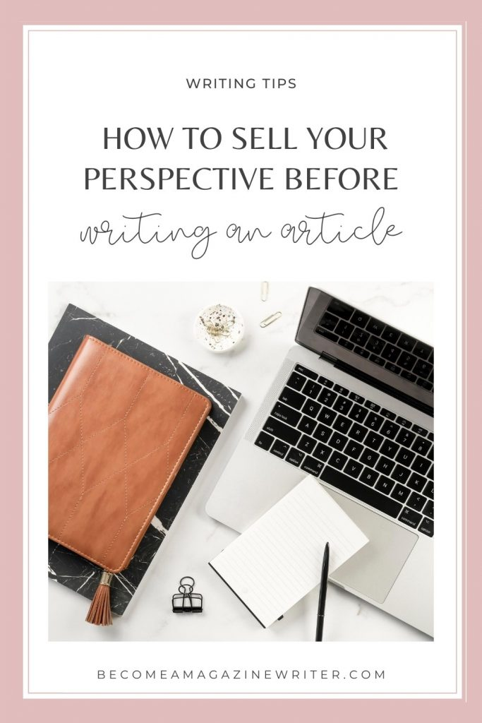 How to sell your article before writing it 02