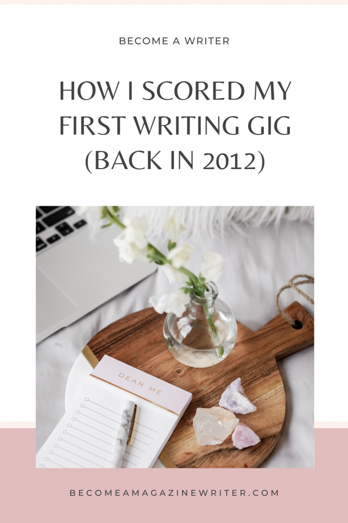 How to score the first writing gig 03